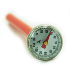 Thermometer Edelstahl 14cm